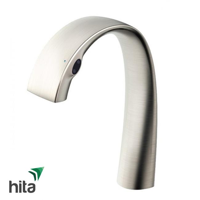 vòi chậu cảm ứng TOTO TLP01701J#BN/TLP01702S bóng mờ - Vòi lavabo rửa mặt tự điều chỉnh nhiệt độ