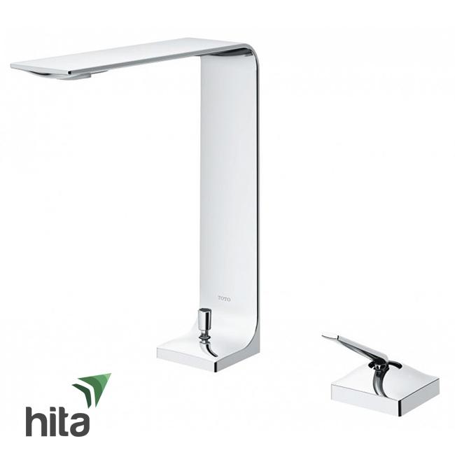 Vòi chậu lavabo TOTO TLP02307B nóng lạnh - Vòi bồn rửa mặt gật gù ZL cao cấp