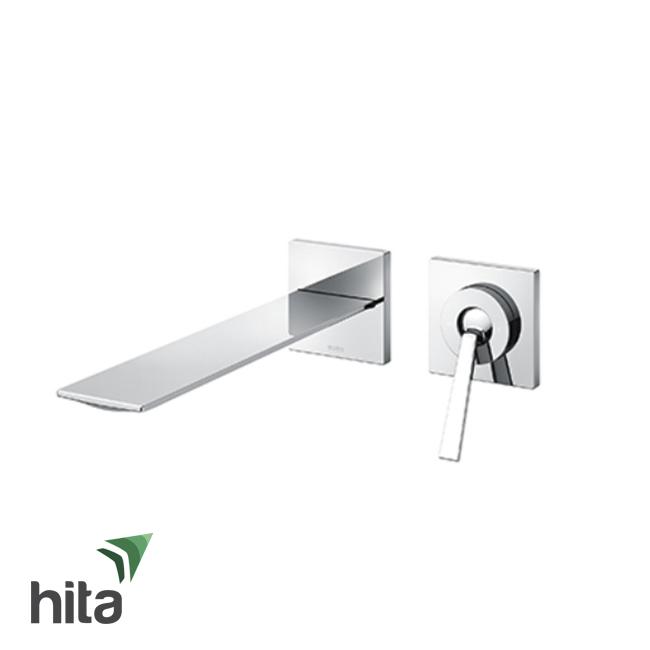 Vòi chậu lavabo TOTO TLP02309B nóng lạnh gắn tường - Vòi bồn rửa mặt gật gù cao cấp