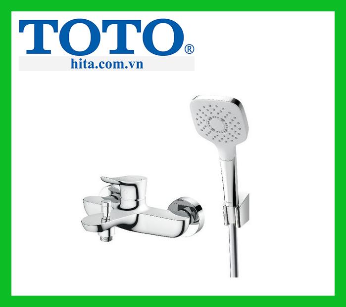 Vòi sen tắm nóng lạnh Toto TBG01302V TBW02005A
