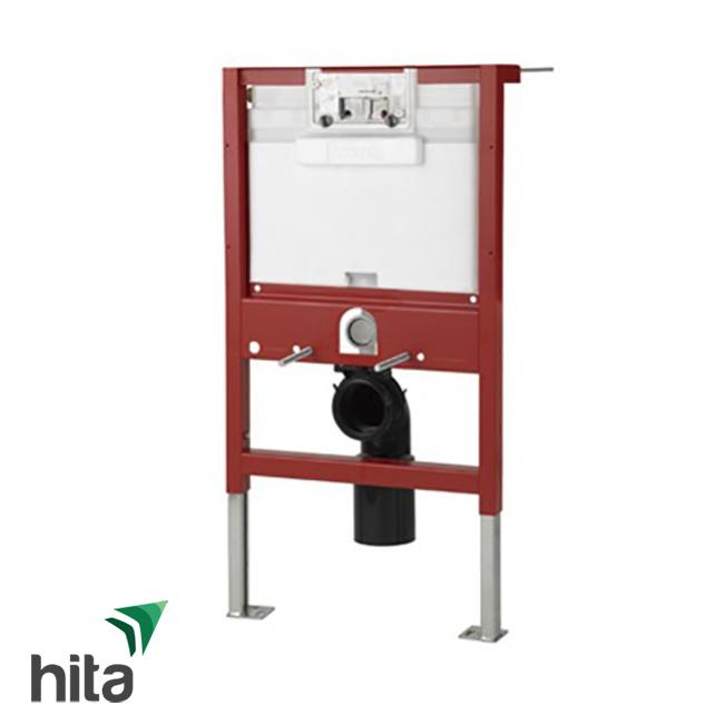 két nước và khung âm tường TOTO WH037D-162B kèm ống thải cong