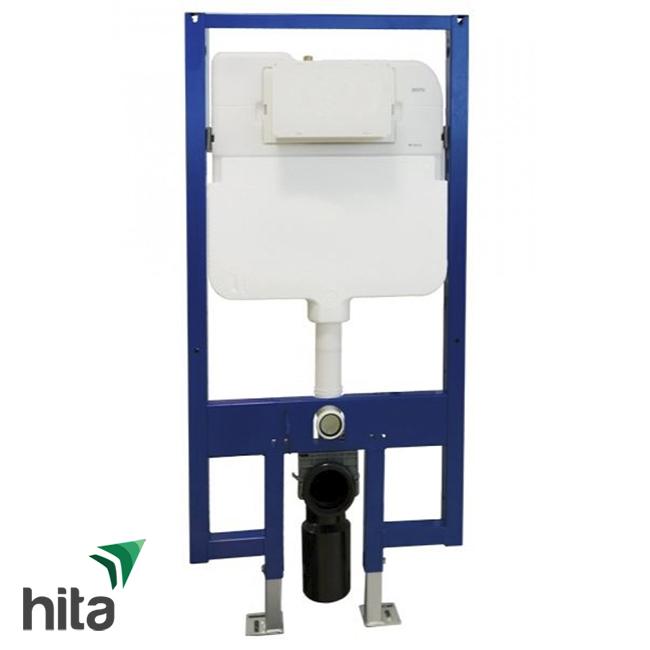 két nước và khung âm tường TOTO WH171A kèm ống thải con