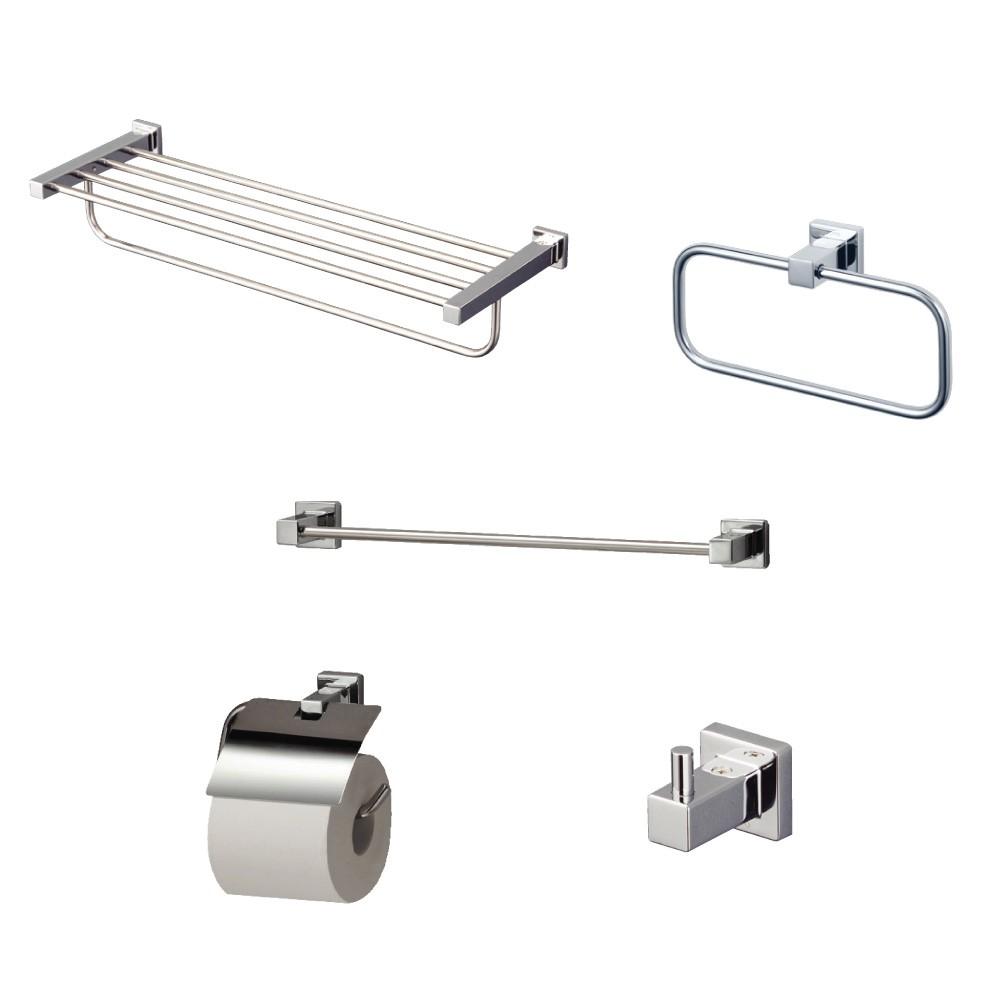 Bộ phụ kiện phòng tắm 5 món TOTO YS408N5V dòng vuông
