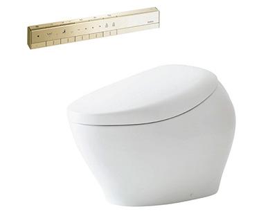 Bồn cầu thông minh điện tử có vòi xịt rửa vệ sinh washlet TOTO tự động