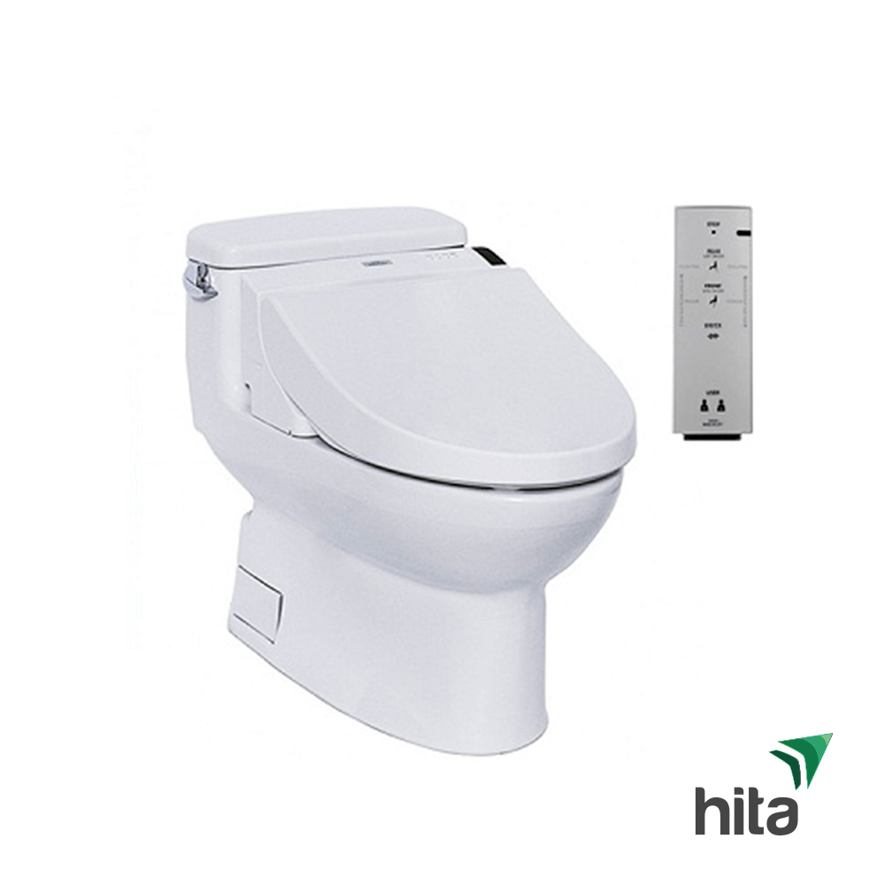 bồn cầu toto 1 khối nắp rửa washlet MS884W6