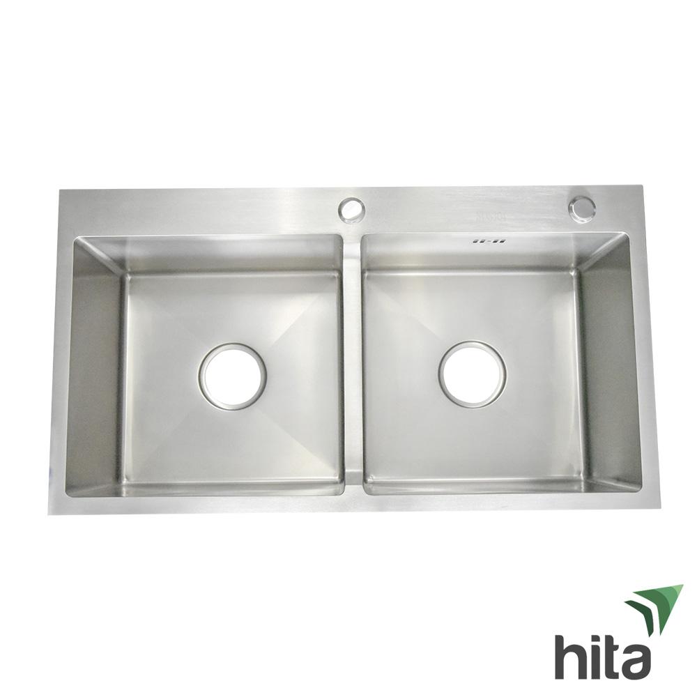 Chậu bồn rửa chén bát Hita HD8245DNB inox SUS 304