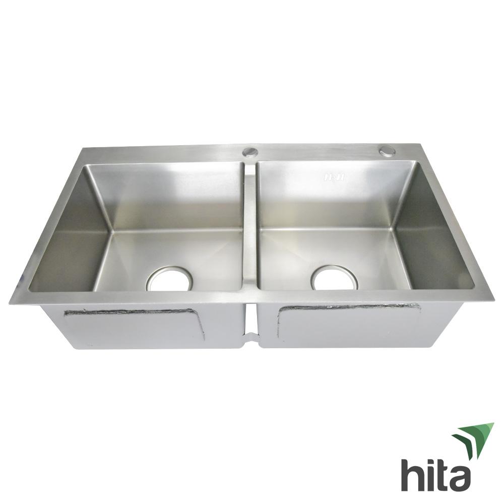 Chậu bồn rửa chén bát Hita HD8245DNB inox SUS 304 Tphcm