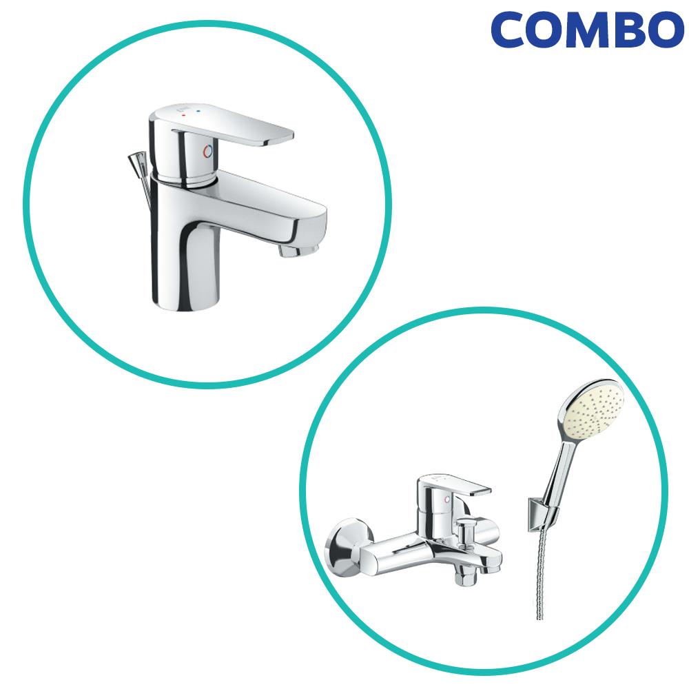 Combo Inax 282: LFV-2012S + BFV-2013S vòi sen và vòi lavabo Inax là combo thiết bị vệ sinh Inax thuộc chương trình khuyến mãi cuối năm của Inax Nhật Bản, chương trình khuyến mãi hấp dẫn nhất tại đại lý cấp 1 Inax, ghé ngay showroom Hita hoặc gọi 0902.92.82.92