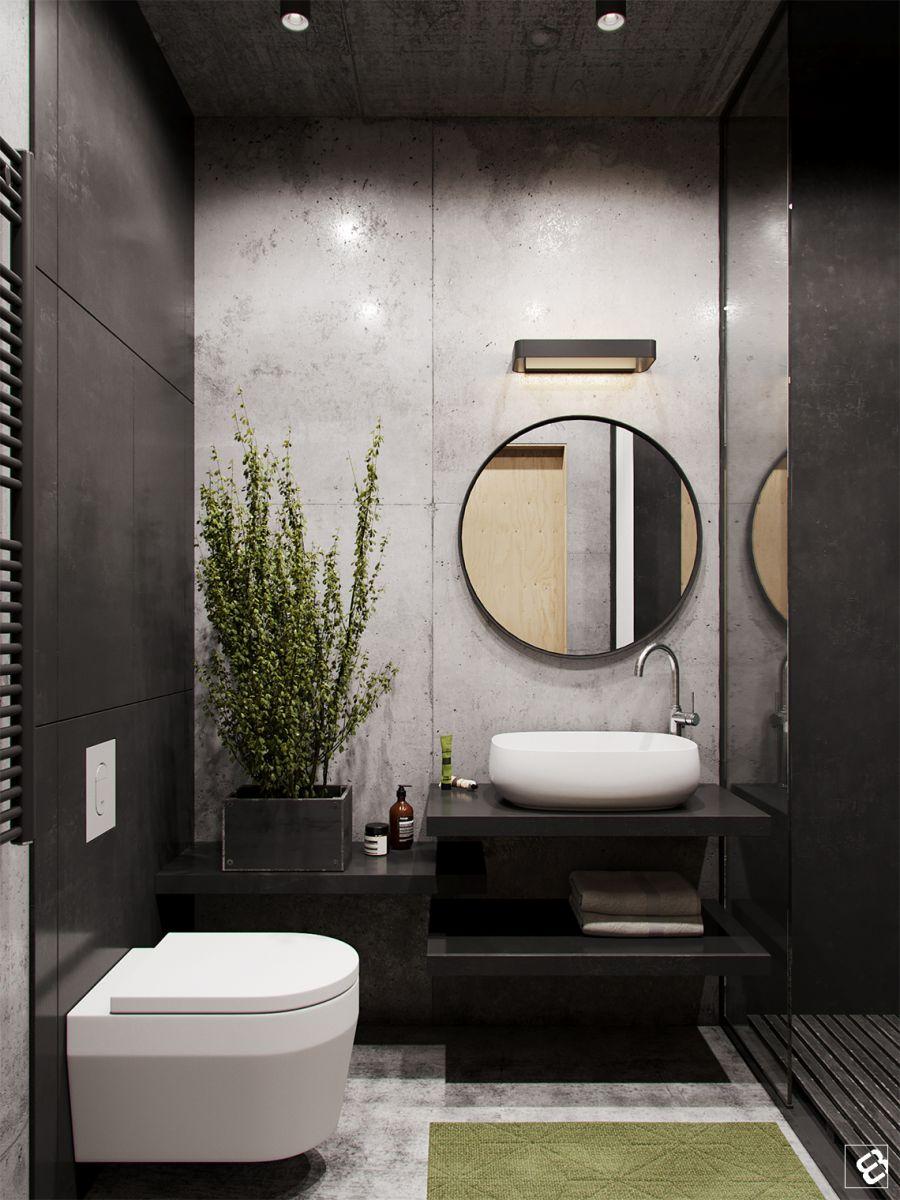 Những mẫu thiết kế cho nhà vệ sinh 4 mét vuông 12