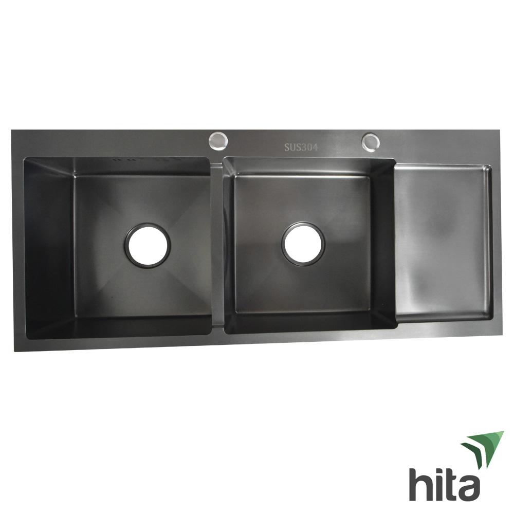 Chậu rửa chén bát Hita HD10045SN nano bạc inox 304 chống rỉ sét tại Tphcm