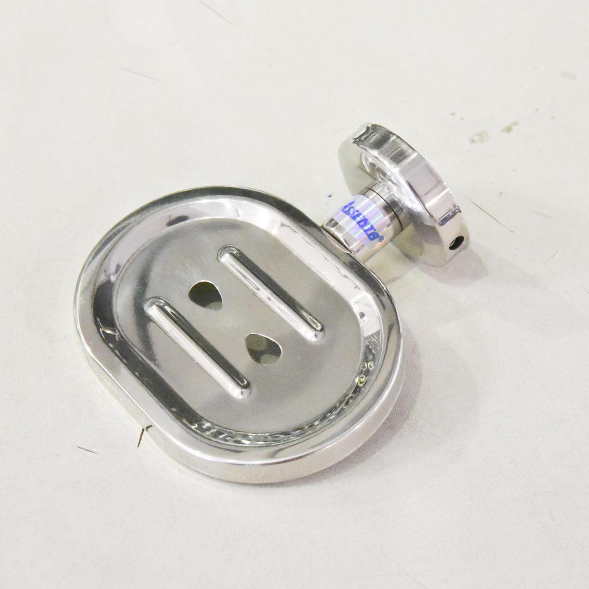 Kệ để xà phòng inox Outlet 02 là sản phẩm thiết bị vệ sinh outlet, xả kho, thanh lý một số mặt hàng trưng bày, giá khuyến mãi cực kỳ hấp dẫn, đến ngay showroom Hita tại Tphcm