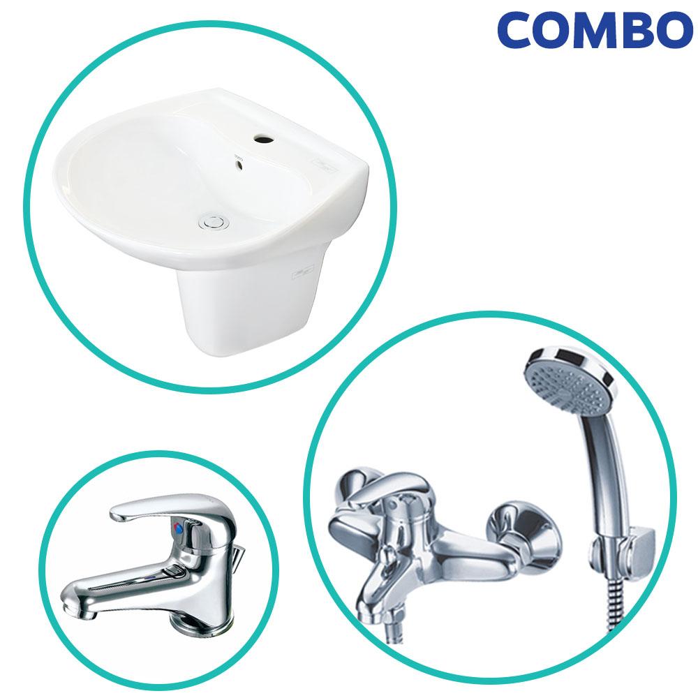 Combo trọn bộ thiết bị vệ sinh TOTO 1H19 (mã ComboTOTOO1H19)
