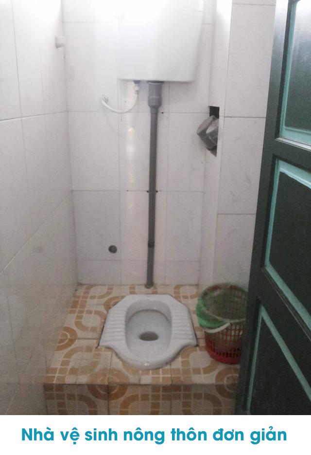 Một vài mẫu nhà vệ sinh nông thôn