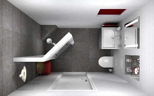 Có nên dùng thiết bị vệ sinh Caesar cho phòng vệ sinh nhỏ