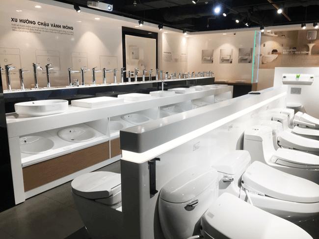 Showroom thiết bị vệ sinh TOTO - xem giá thiết bị vệ sinh TOTO