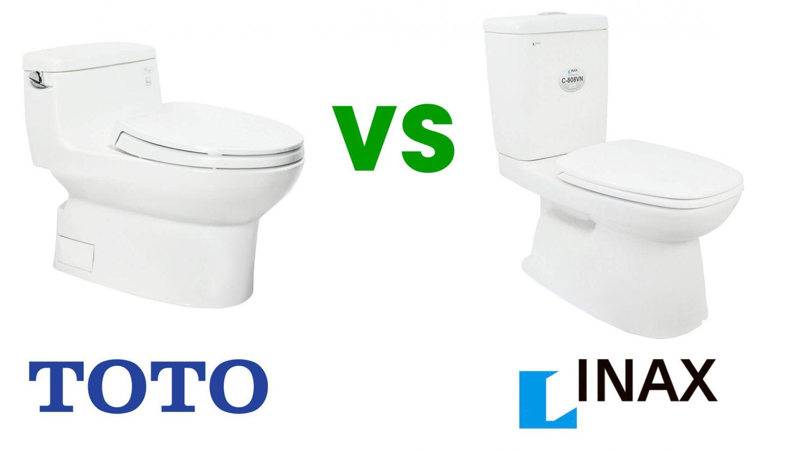 Nên mua bồn cầu TOTO hay INAX cho phòng vệ sinh mới xây