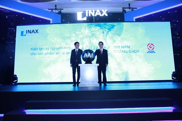 Công nghệ Aqua Ceramic vừa được thiết bị vệ sinh Inax giới thiệu trên bồn cầu hình 1