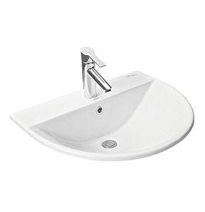 Chậu rửa mặt lavabo Toto L946CR dương vành bàn đá cao cấp