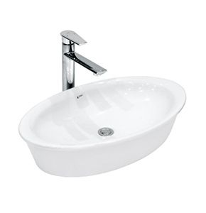 Chậu đặt bàn Inax GL-300V - Nơi bán bồn rửa mặt rẻ