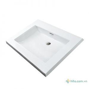 Chậu rửa tay lavabo âm bàn Toto LT520T bàn đá