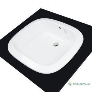 Chậu rửa mặt lavabo Toto L763(LT763) dương vành bàn đá