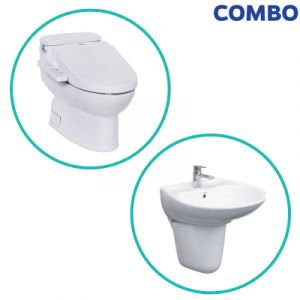 Combo TOTO 22 MS884W7+LHT300CR
