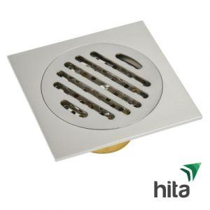 Phễu thoát sàn inox 304 HITA 120x120 Fi 60