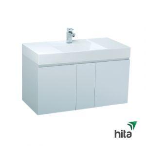 Tủ lavabo treo tường Caesar LF5386+EH0100V