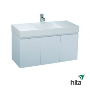 Tủ lavabo treo tường Caesar LF5388+EH0120V