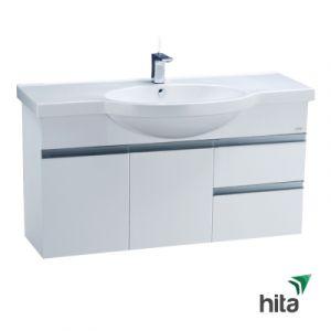 Tủ lavabo treo tường Caesar LF5324+EH213V