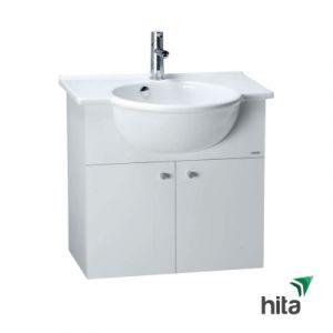 Tủ lavabo treo tường Caesar LF5304+EH165V