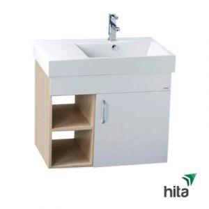 Tủ lavabo treo tường Caesar LF5318+EH175RV