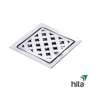 Phễu thoát sàn Luxta L703B - Lọc rác inox 304 1.2 tấc Þ 60 (Hoa mai)