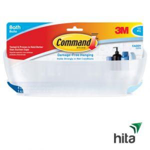 Kệ đựng vật dụng phòng tắm 3kg Command-3M