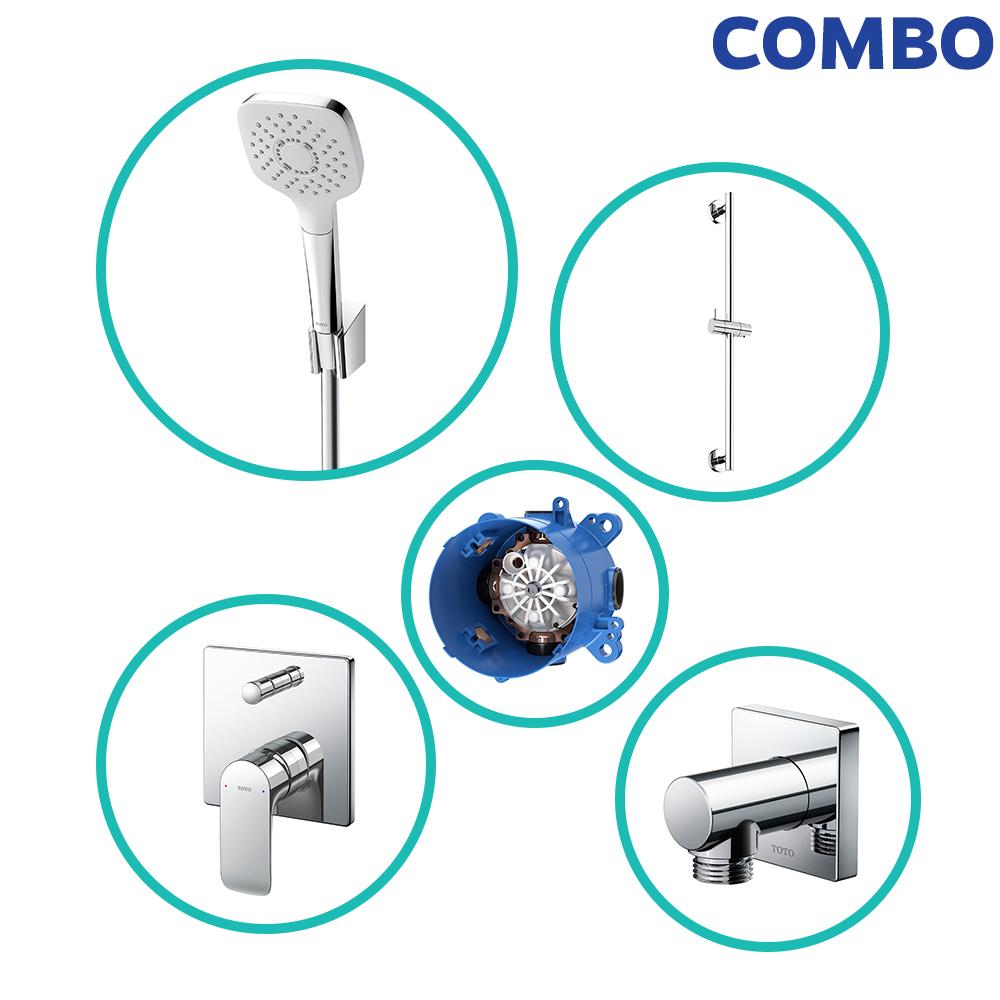 Trọn bộ thiết bị nhà tắm TOTO COMBOTOTO110