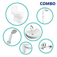 Trọn bộ thiết bị nhà tắm TOTO COMBOTOTO83