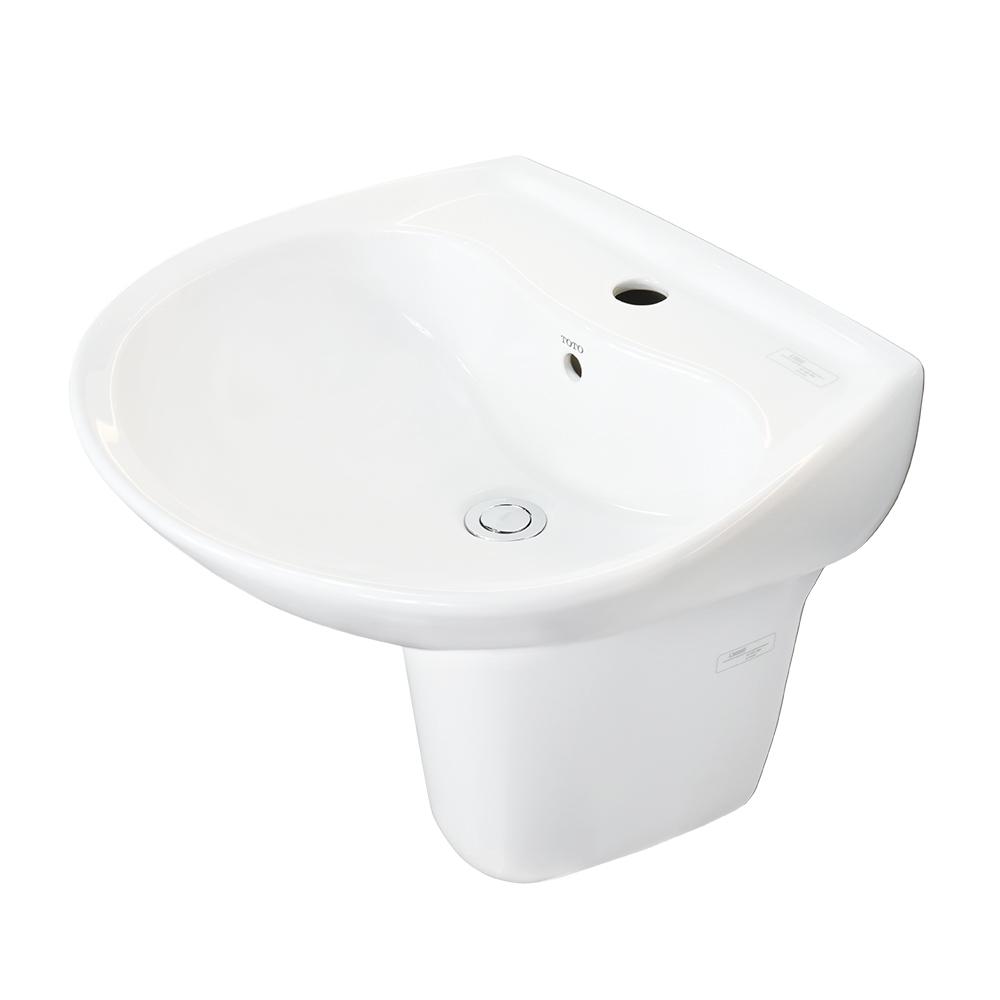 Chậu rửa Lavabo TOTO chân lửng LHT300CR