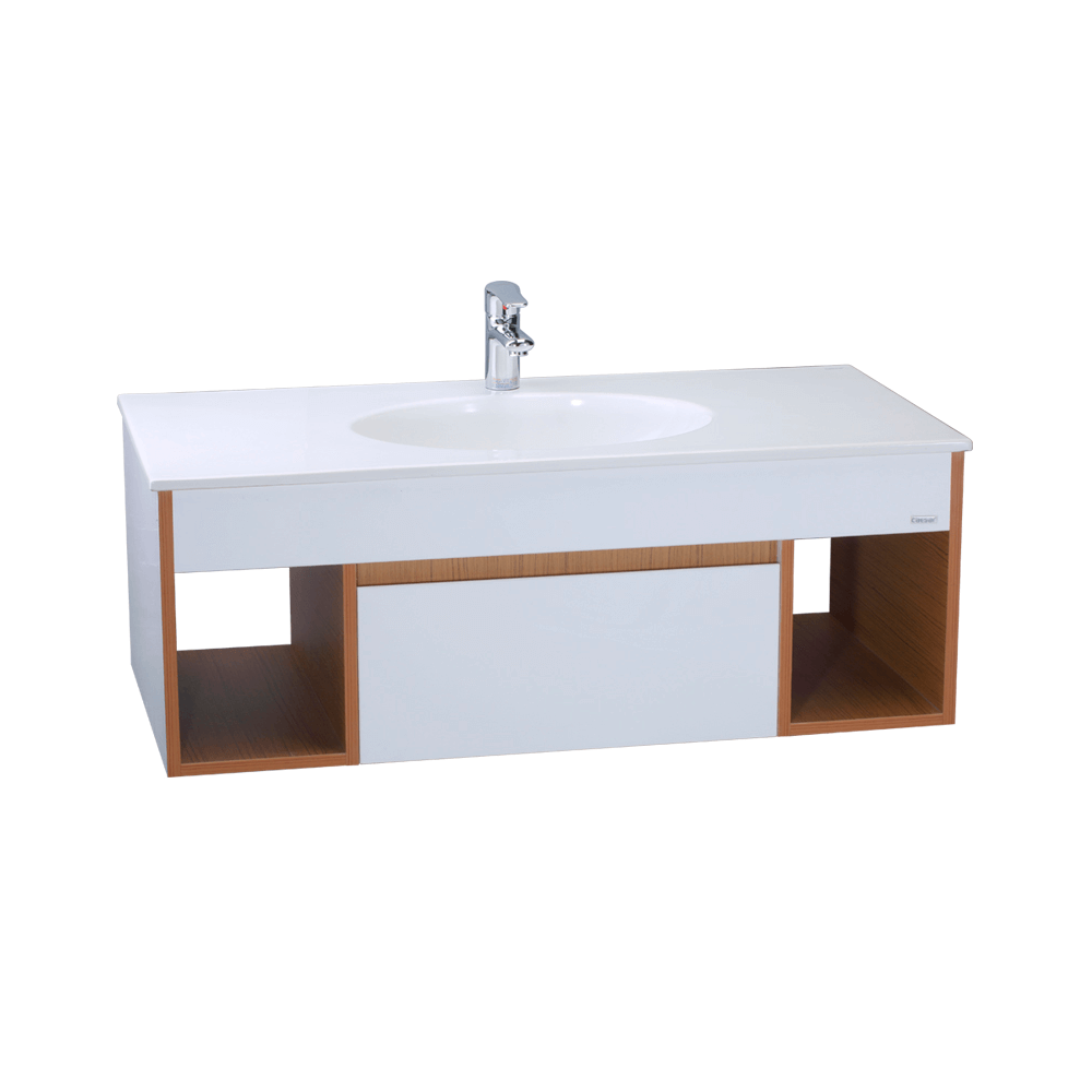 Tủ lavabo liền bàn Caesar LF5028+EH6100V