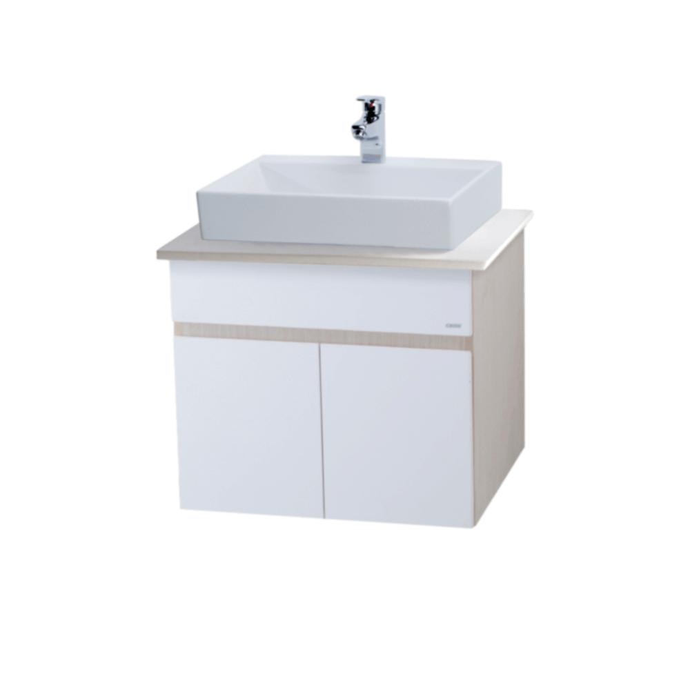 Tủ lavabo treo tường Caesar LF5253+FB001A+EH160V