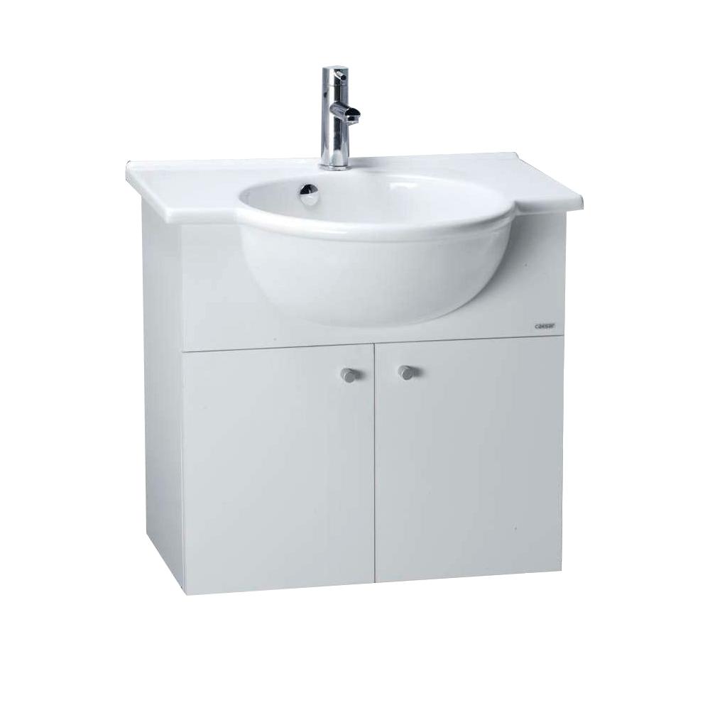Tủ lavabo liền bàn Caesar LF5304+EH165V