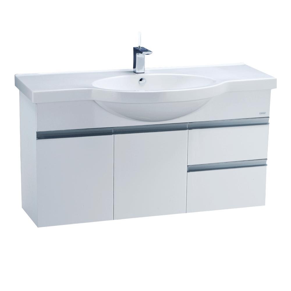 Tủ lavabo liền bàn Caesar LF5324+EH213V
