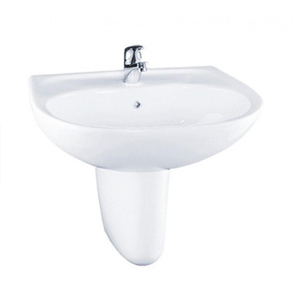 Chậu rửa Lavabo TOTO chân lửng LHT236CS