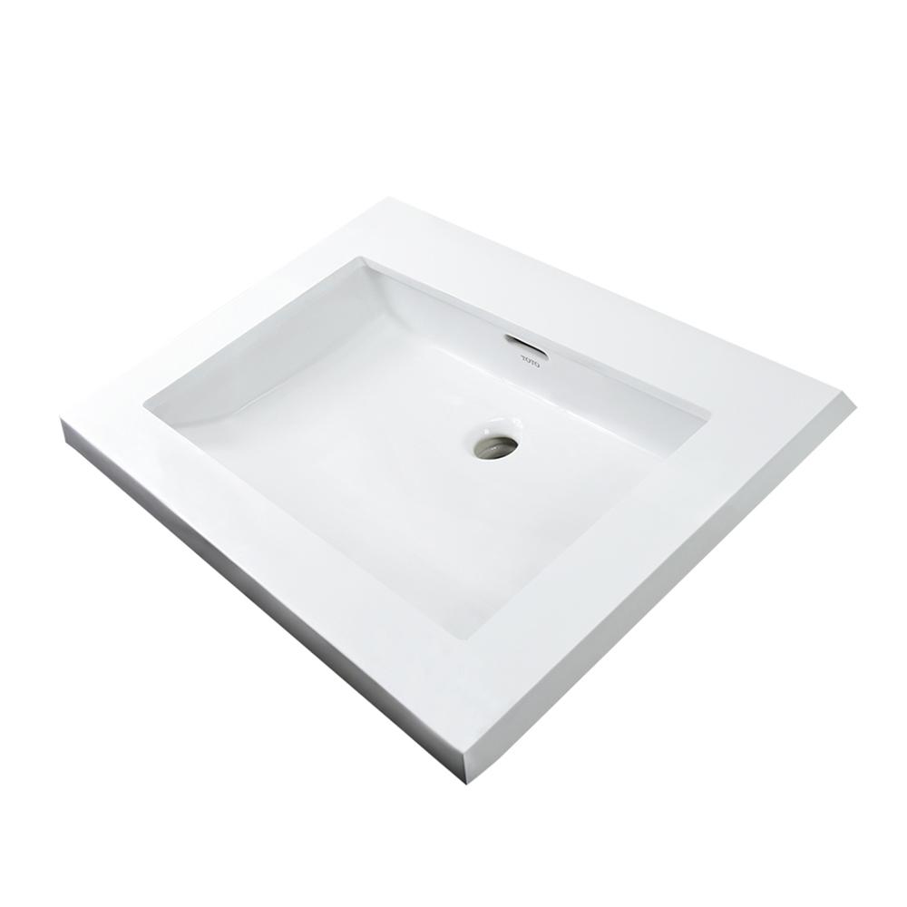 Chậu rửa Lavabo TOTO âm bàn LT520T