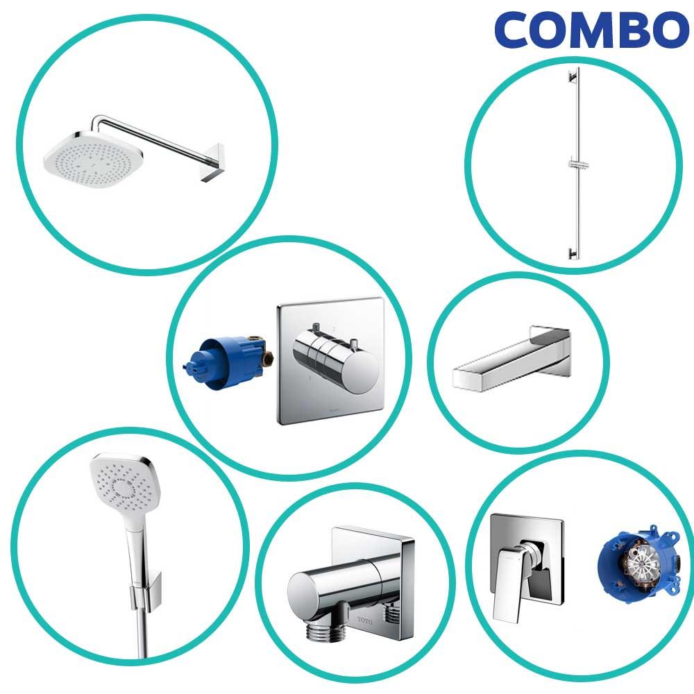 Trọn bộ thiết bị nhà tắm TOTO COMBOTOTO103
