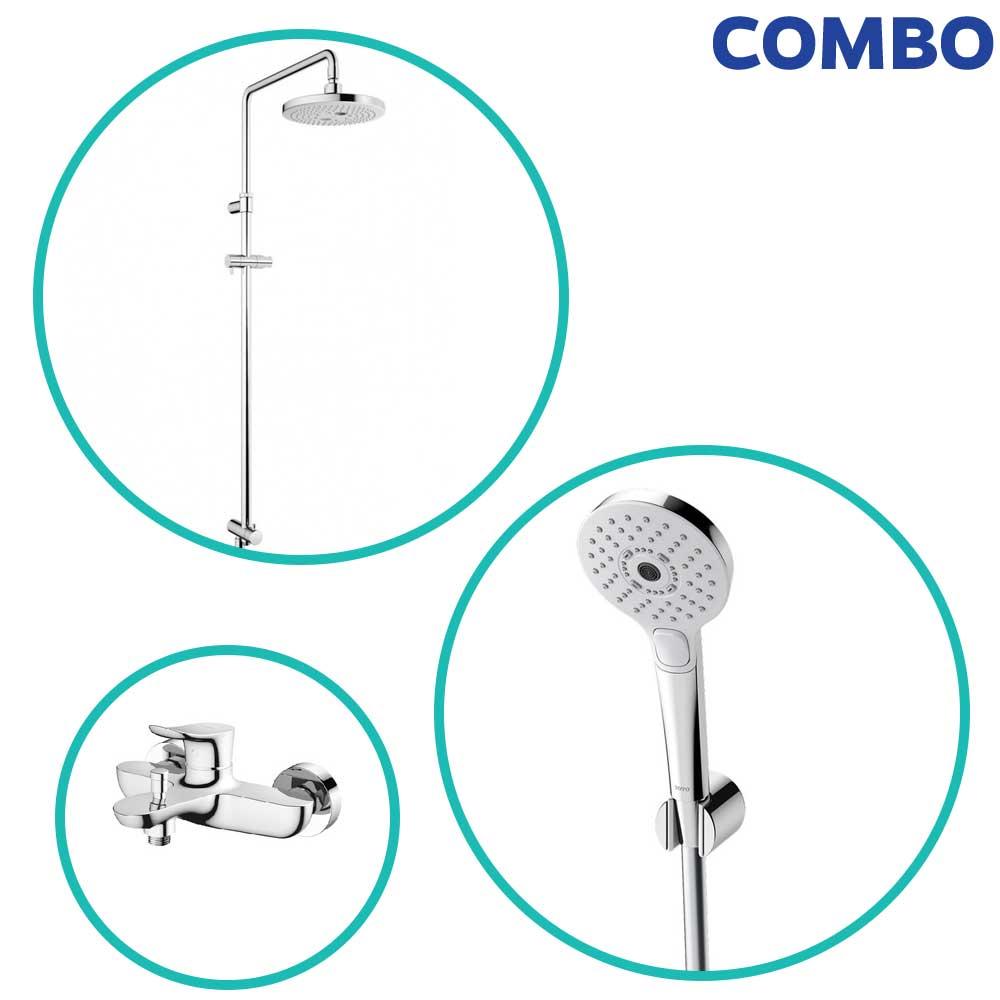 Trọn bộ thiết bị nhà tắm TOTO COMBOTOTO122